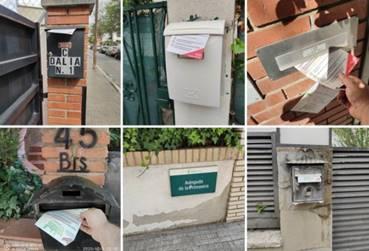 buzoneo chalets urbanizaciones barcelona