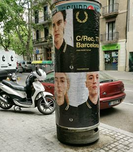 carteles fred perry BCN