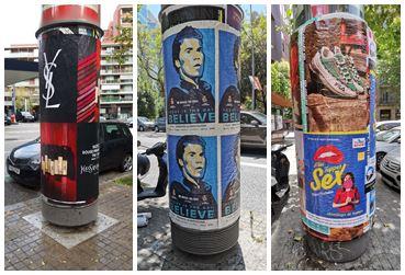 carteles cola barcelona